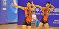 全国学生运动会中学组健美操决赛在中国美院举行 - 浙江新闻网