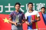 吴易昺再创历史 夺得ATP挑战赛男单冠军 - 省体育局