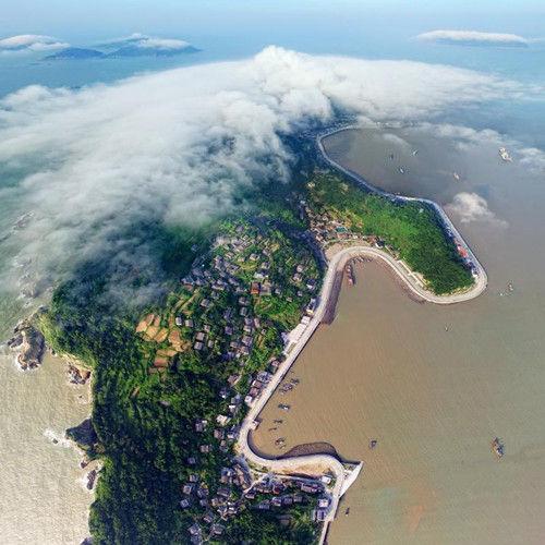 偏远百岛变海上花园 浙江洞头城市面貌日新月异