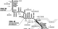 地铁2号线二期三期列车开始试跑 计划年底开通 - 浙江新闻网