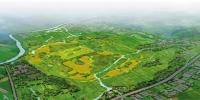 良渚国家考古遗址公园鸟瞰图 - 浙江新闻网
