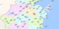 1月8日20时—9日07时浙江最低气温分布图 浙江天气网 - 浙江新闻网