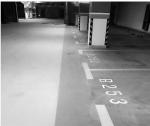 车库靠近车位一侧有一条鲜艳的蓝色带(图中打白框处)——这是人行道,考虑到接送孩子都往这里走,很人性化地设计了人行道。 - 浙江网