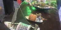 鱼骨塑画。 童笑雨摄 - 浙江新闻网