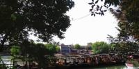图为:乌镇西栅景区。 胡小丽 摄 - 浙江新闻网