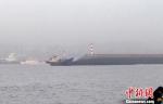 图为搁浅渔船。 张帆 摄 - 浙江新闻网