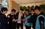 """瑞安市市场监管安阳所组织""""考评专家库"""",对吾悦广场所有的餐饮店进行一季度的打分。 瑞安宣传部供图 - 浙江新闻网"""