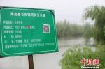 海盐线百步镇河长公示牌。 海盐宣传部提供 - 浙江新闻网