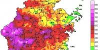 6月17日08时至7月17日08时浙江省雨量分布图。浙江省气象台 供图 - 浙江网
