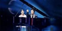 林安露与钢琴大师郎朗 受访者提供 摄 - 浙江新闻网