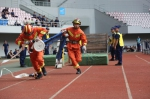 图为竞技现场。绍兴消防供图 - 浙江新闻网