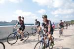 杭州亚运会骑行大联动活动现场。主办方 供图 - 浙江新闻网