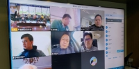 视频连线帮助海外侨胞 陈薇 摄 - 浙江新闻网