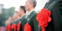 资料图:士兵退役仪式。 高铭 摄 - 浙江新闻网
